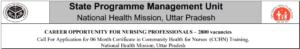 यूपी कम्यूनिटी हेल्थ ऑफिसर भर्ती 2021